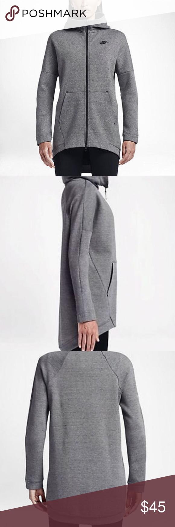 Nike tech fleece cape hoodie jacket in my posh picks