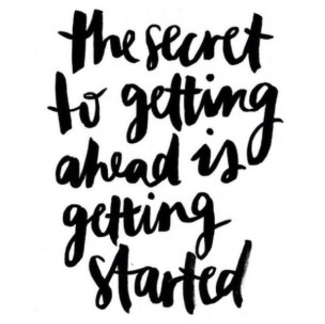 It's Monday, let's get it started right! #mondaymotivation