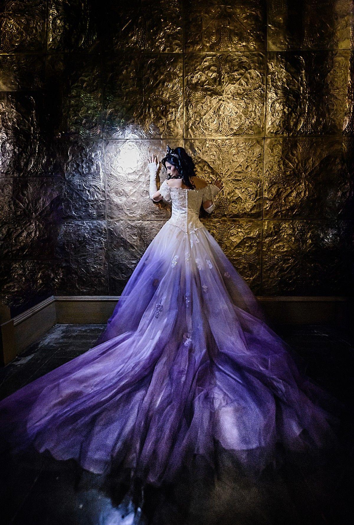 16 Beautiful Ombre Wedding Dresses Ombre Wedding Dress Dip Dye