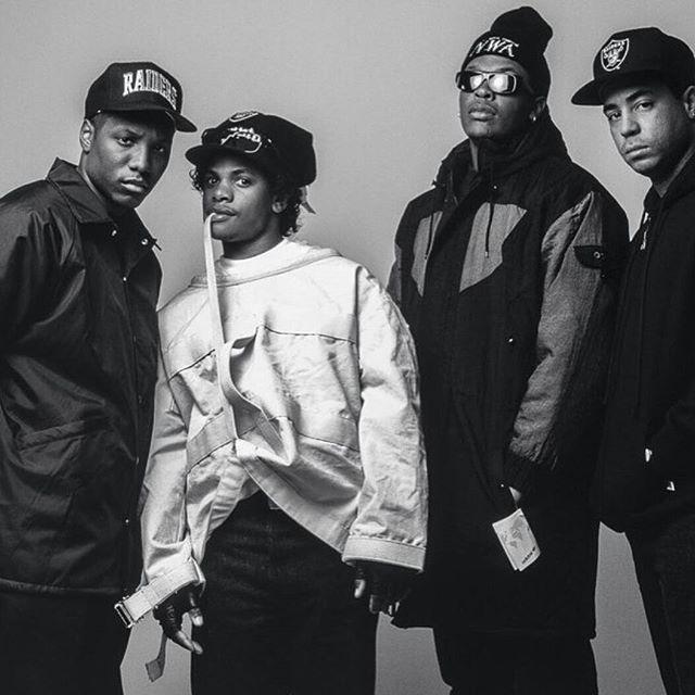 MC Ren, Eazy-E, Dr. Dre And DJ Yella