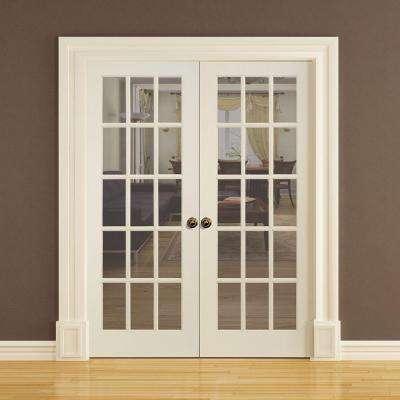 24 In X 80 In Primed 15 Lite Solid Core Pine Interior Door Slab In 2020 Doors Interior Pine Interior Doors Doors
