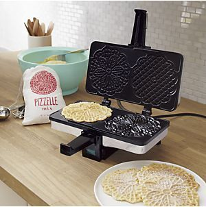 The Perfect Gadget To Make Pizzelles Cucinapro Nonstick Pizzelle