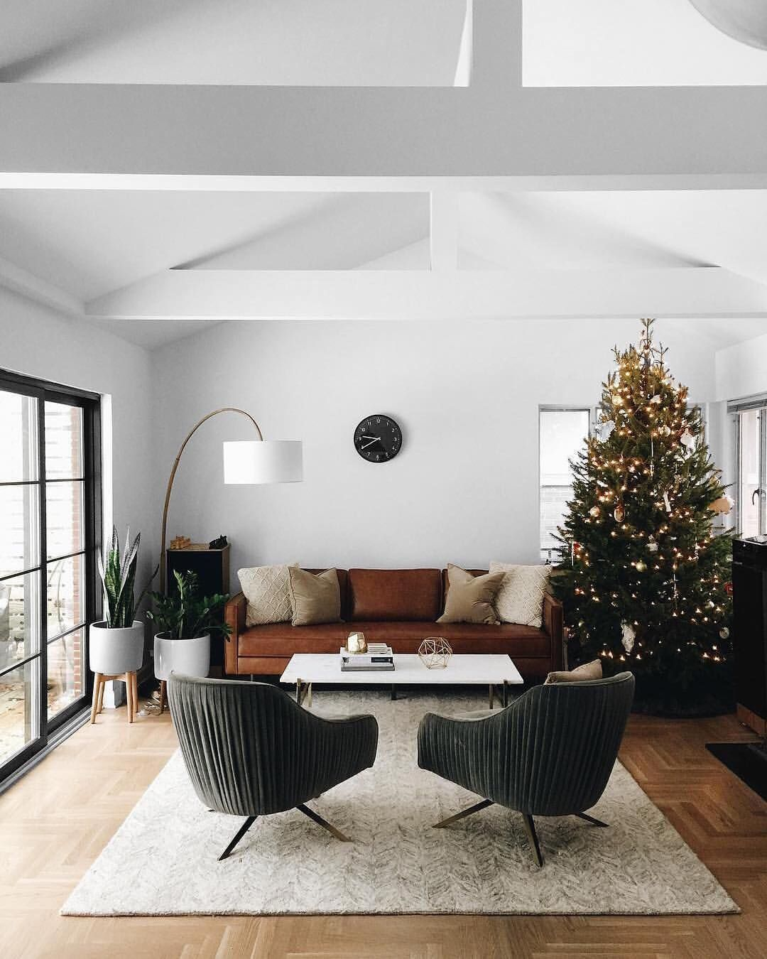 Mid century modern living room style is born in the period between ...