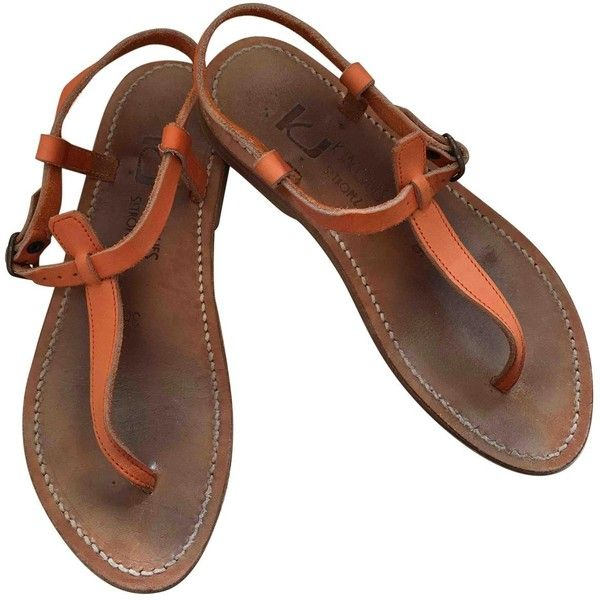 From China Pre-owned - Leather sandals K.Jacques Quality For Sale Free Shipping Cheap Websites Jm02p