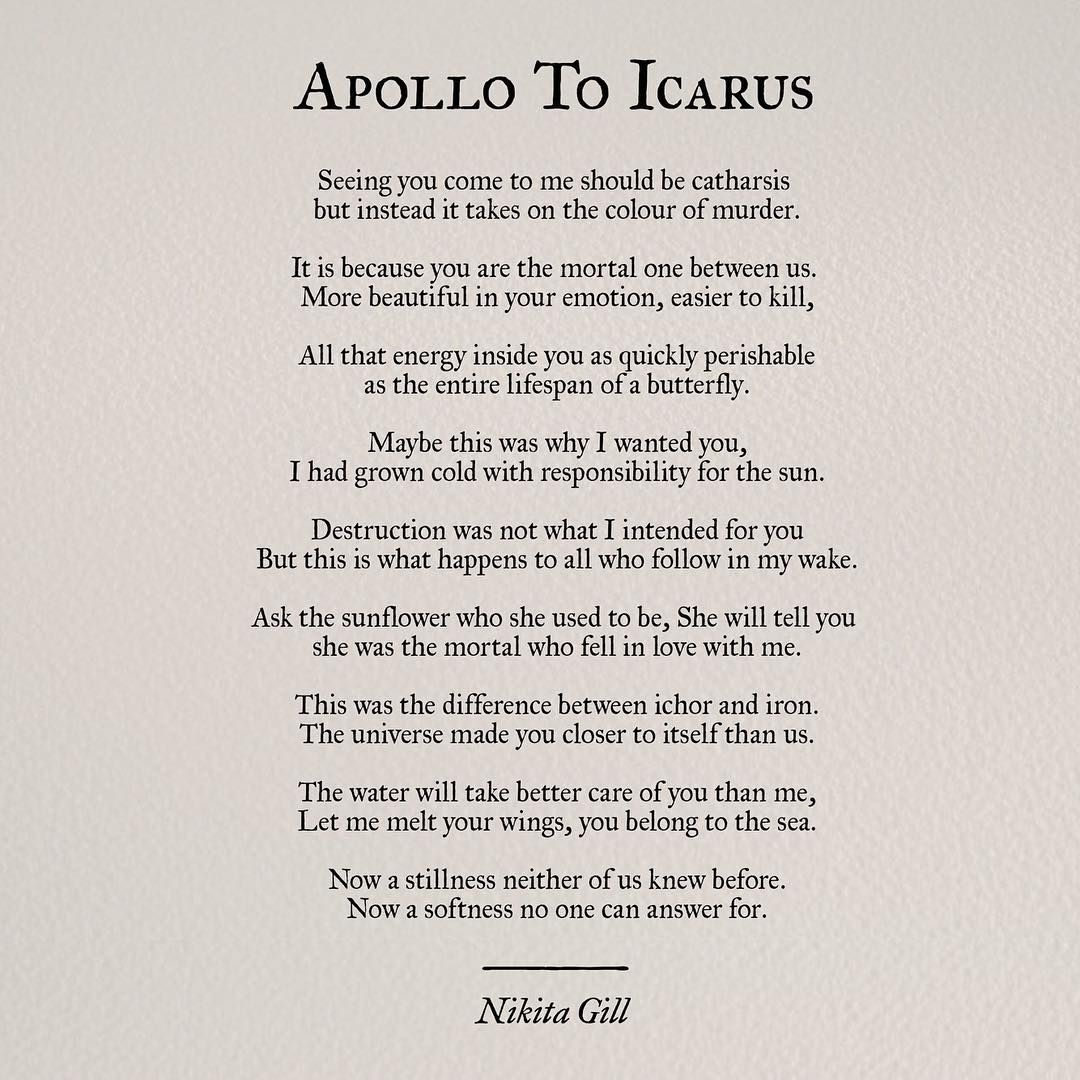Nikita Gill Myth Poems Will Forever Be My Favourites For A
