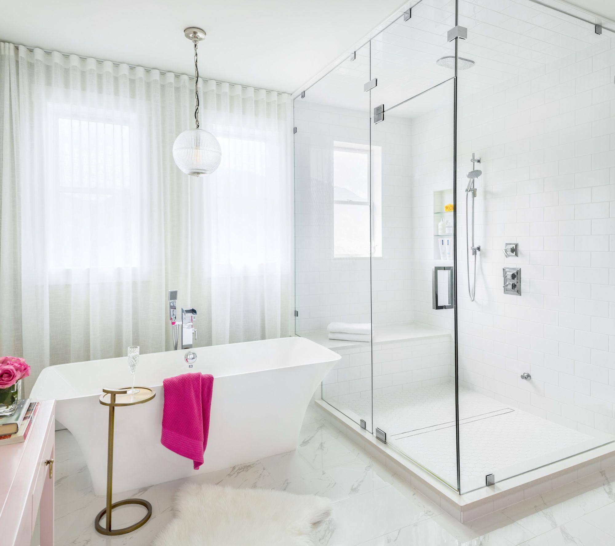 Pink and Navy Master Bedroom  Ensuite Before u After  Navy master