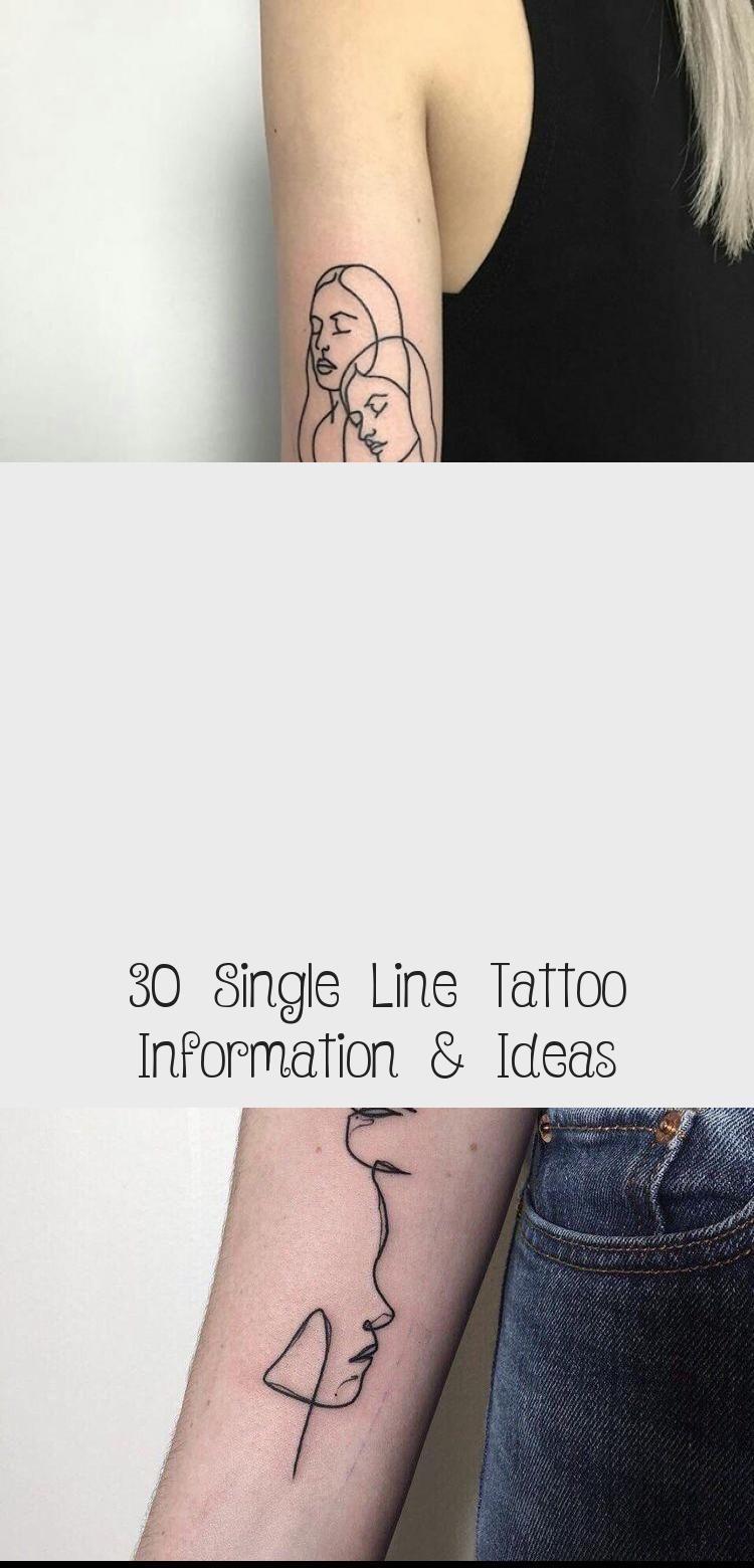 Small Acid Tattoo: 30 Single Line Tattoo Information & Ideas
