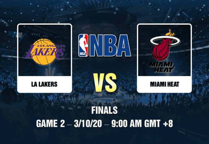 Lakers V Heat Game 2 Prediction Nba Finals 3 10 20 In 2020 Heat Game Nba Finals Nba Miami Heat