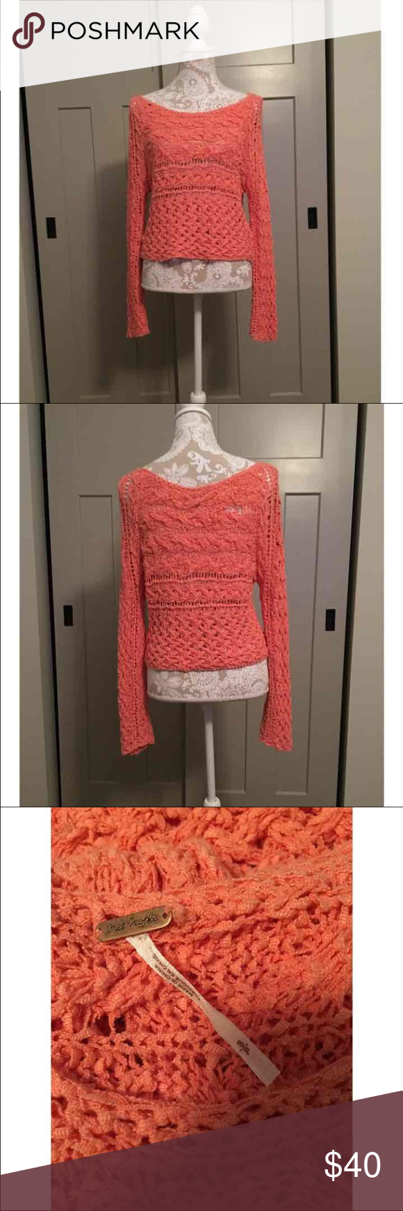 Free people sweater | Orange sweaters, Free people and People