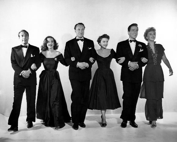 Image result for all about eve 1950 cast