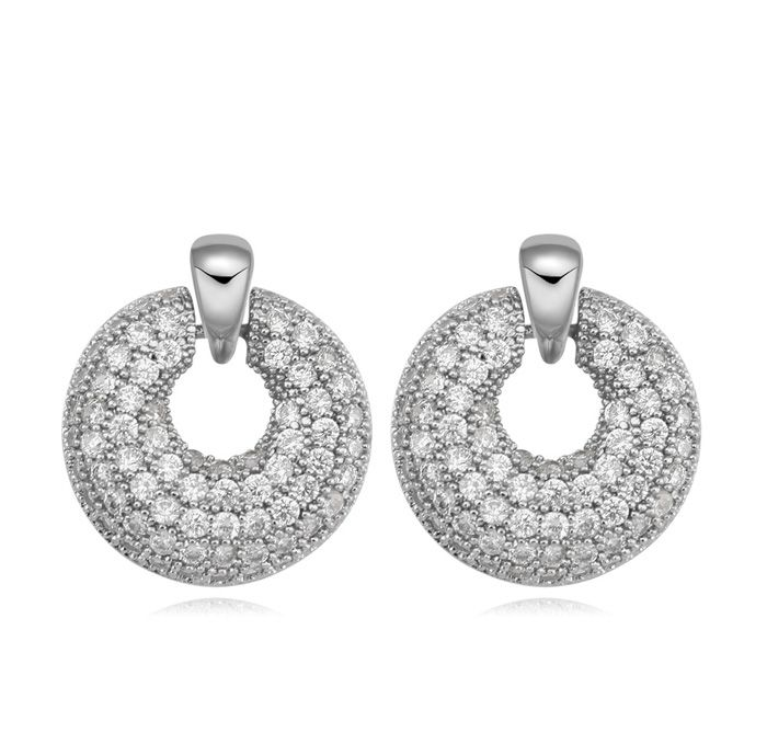 Rhinstones Crystal Earrings - Q225.00