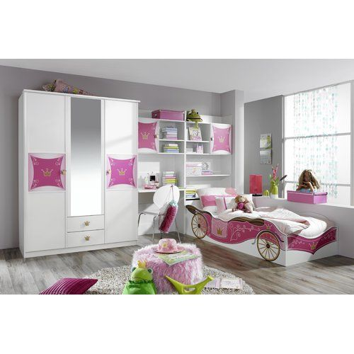 4-tlg Schlafzimmer-Set Kate 90 x 200 cm Jetzt bestellen unter - schlafzimmer komplett