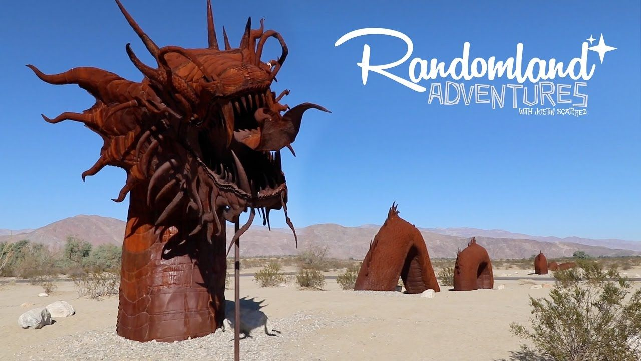 Giant Sea Serpent in the Desert!