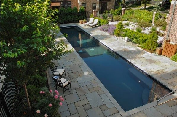 Great Lap Pool Design LandCrafters, Inc. New Berlin, WI