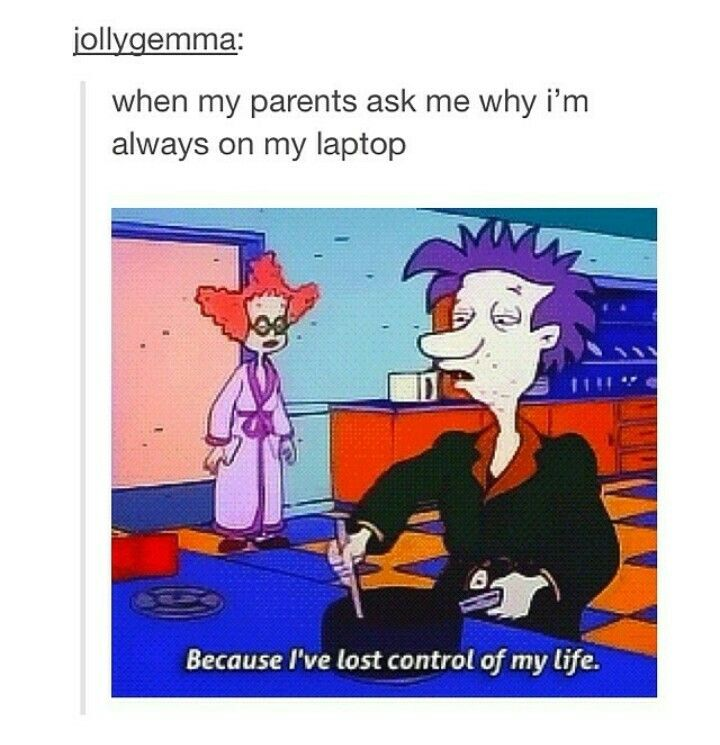 I Ve Lost Control Of My Life Rugrats