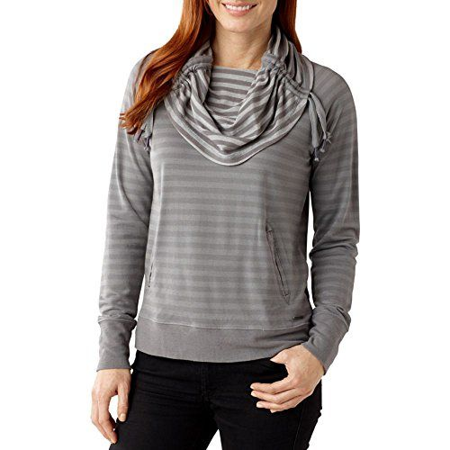 Smartwool Womens Hanging Lake Pullover Light Gray Medium ** Check out this great product.