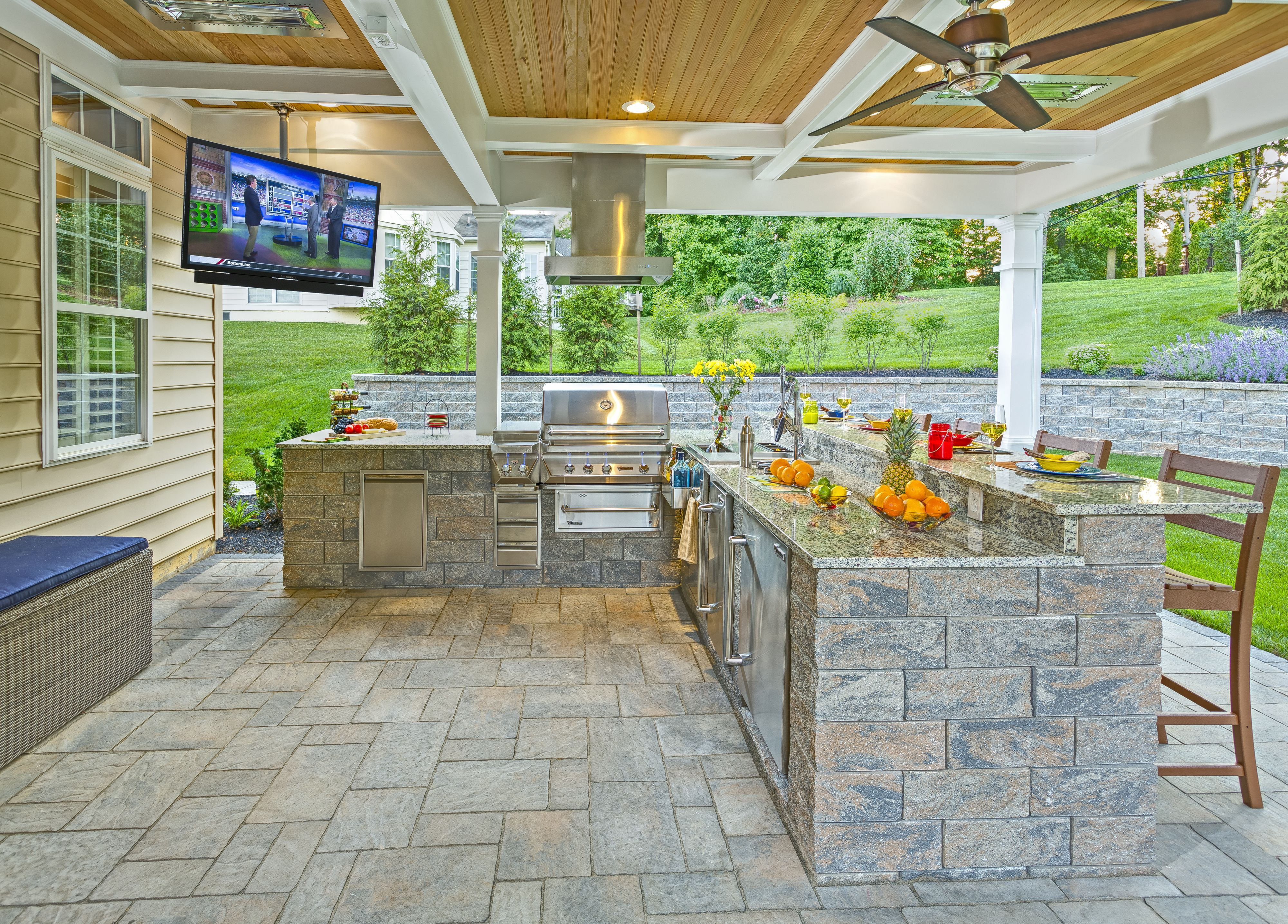 outdoor kitchen outdoor kitchen design outdoor living cool kitchens on outdoor kitchen natural id=41925