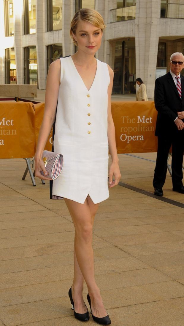 Jessica Stam Wears Thom Browne, 2013 American Ballet Theatre Opening Night Spring Gala New York City