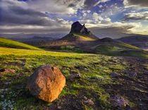 Hans Strand, Mt. Einhyrningur, Iceland