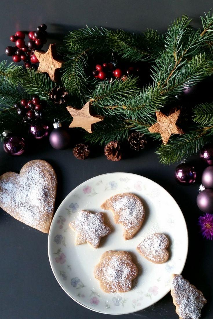 Vegane Butterkekse, für Advent und Weihnachten. Vegane Butterkekse ...