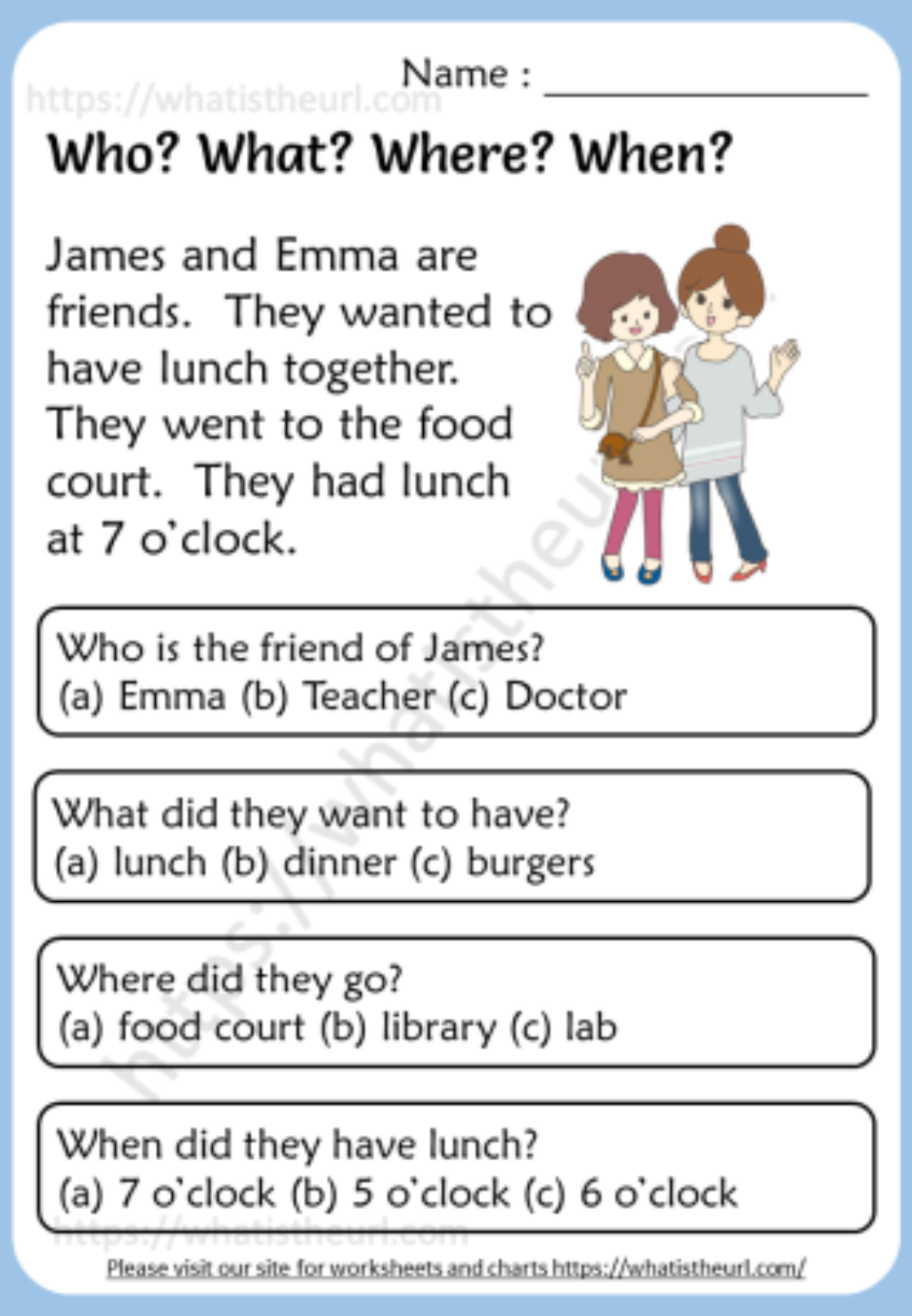 Who What Where When Reading Comprehension Worksheets Your In 2021 Reading Comprehension Worksheets Reading Comprehension Passages Free Reading Comprehension Passages [ 1478 x 1024 Pixel ]