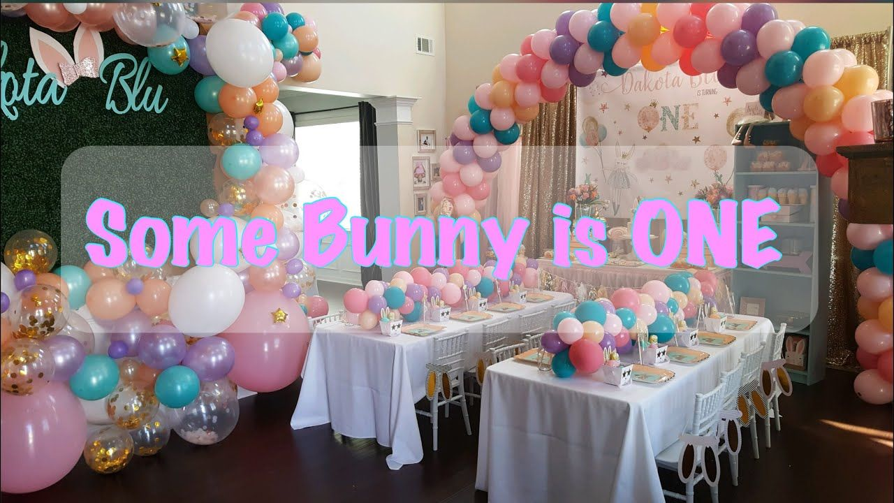 Dakota's First Birthday Party Some Bunny is ONE DIY