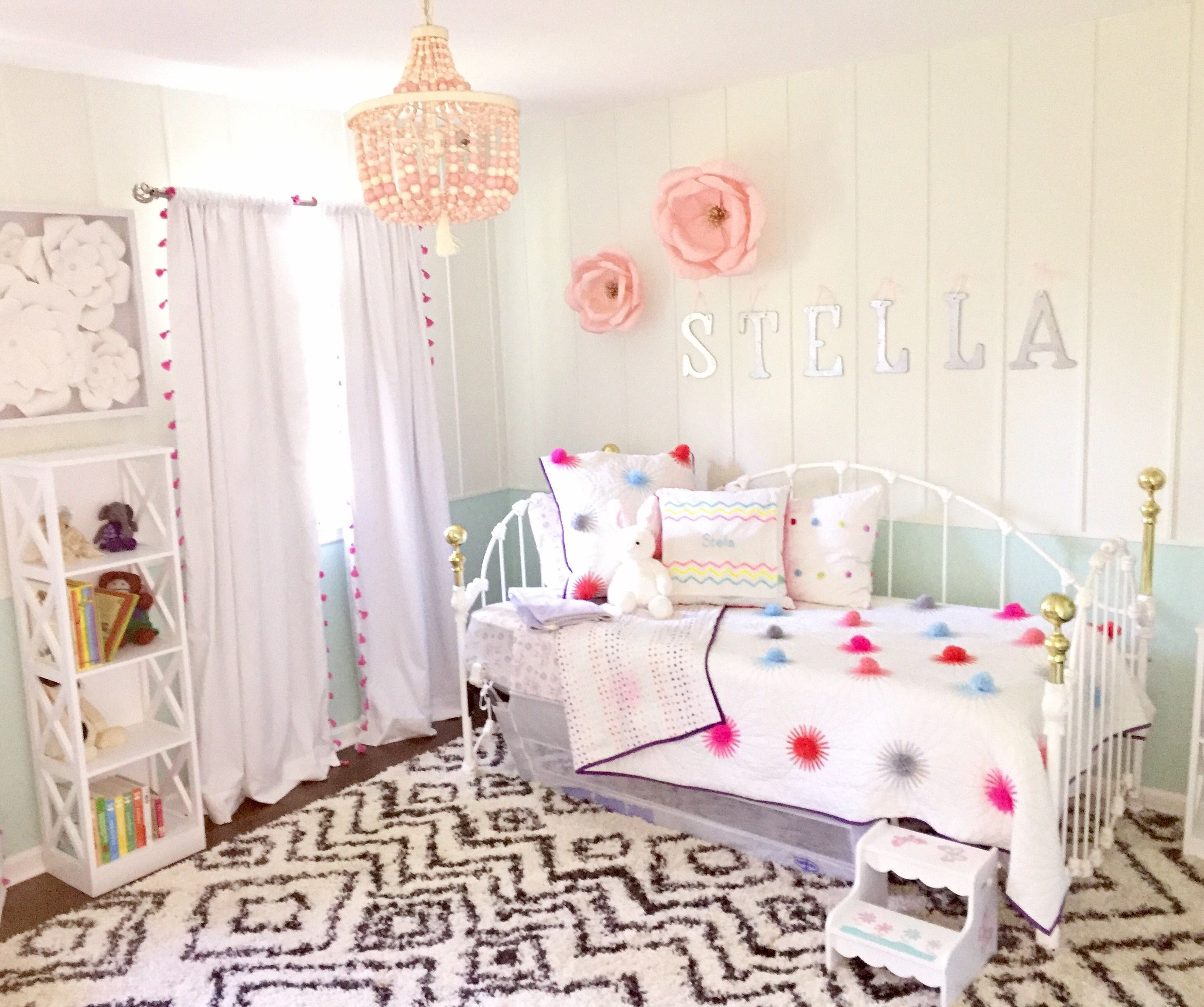 "Bedroom For Girl Interior Design Stella's ""big Girl"" Room  Big Girl Rooms Big And Room"