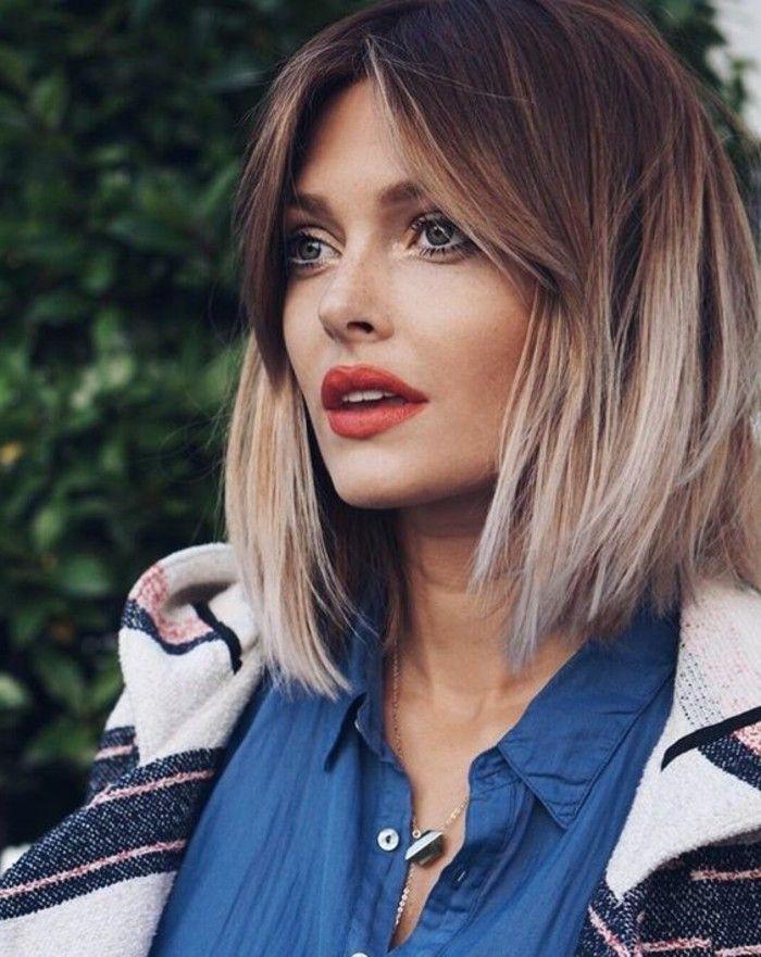 Ansatz dunkle haare grauer Rausgewachsenen Haaransatz