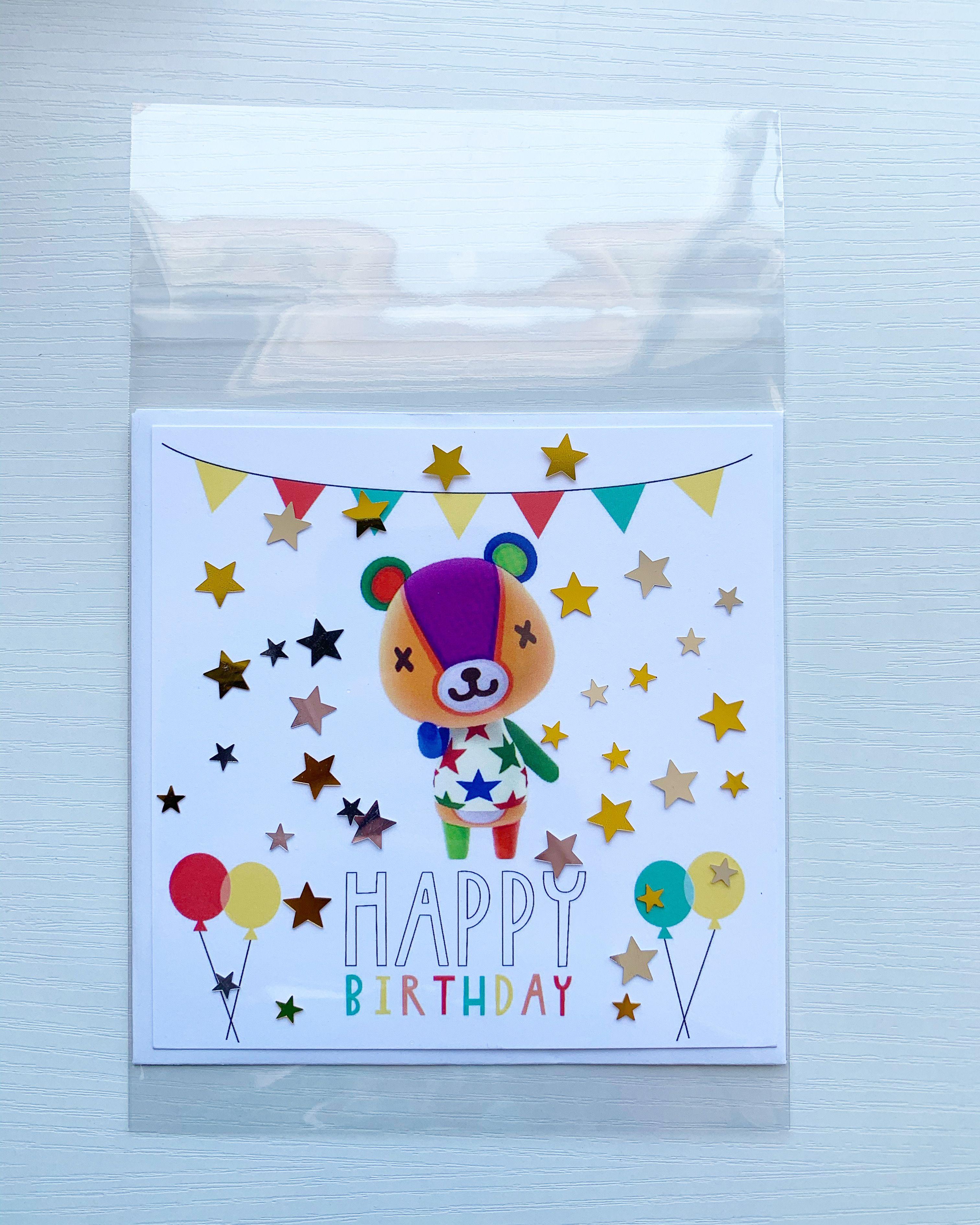 15+ Animal crossing birthday card images