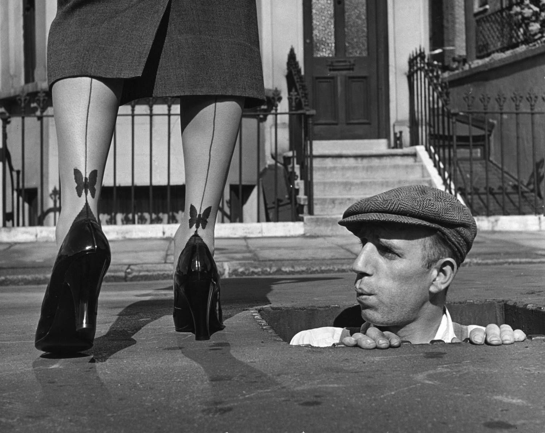 USA, 1950 - by Kurt Hutton (1893 -1960), German/UK | Straatfotografie, Fotografie, Monochroom