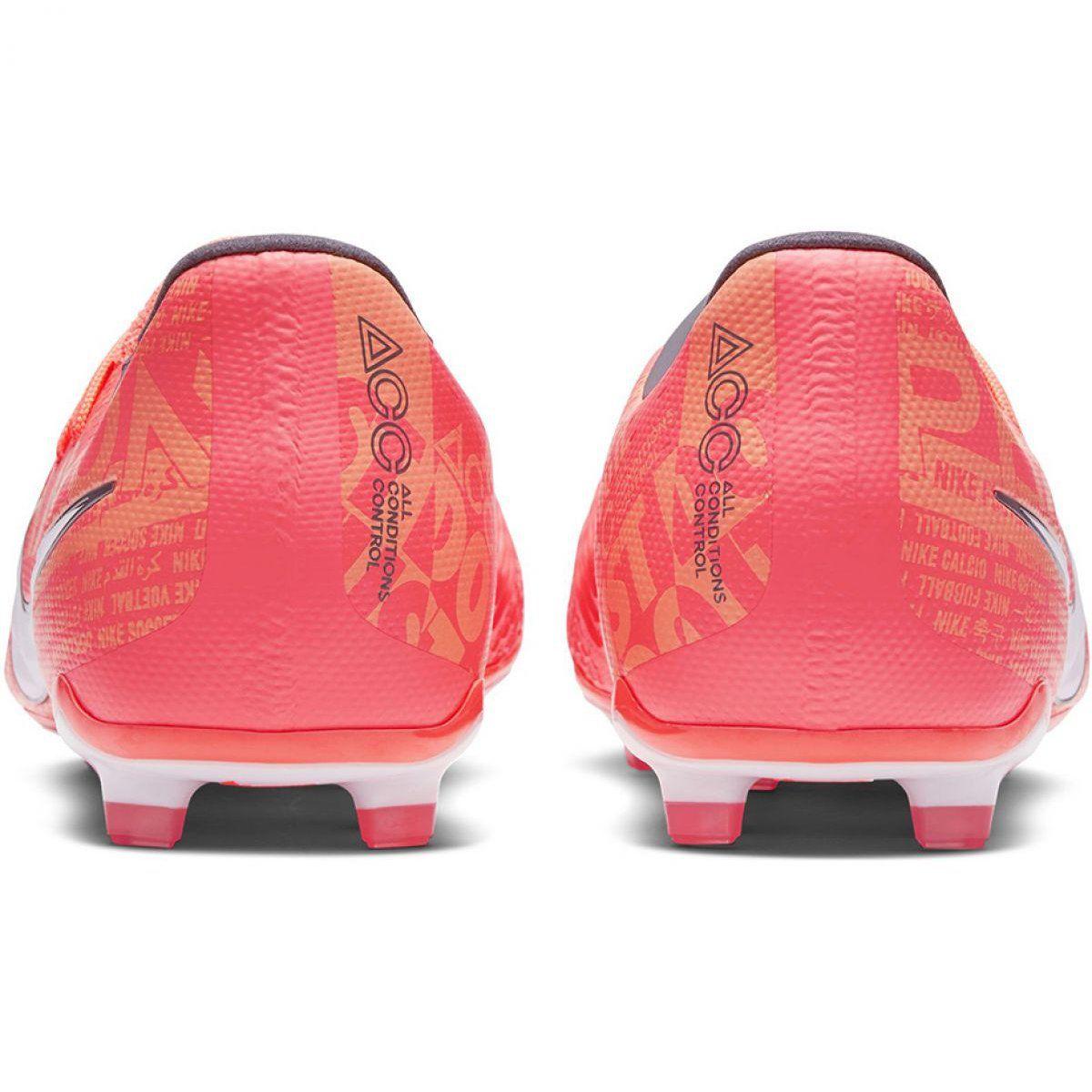 Buty Pilkarskie Nike Phantom Venom Elite Fg Jr Ao0401 810 Pomaranczowe Wielokolorowe Football Shoes Nike Designer Boots