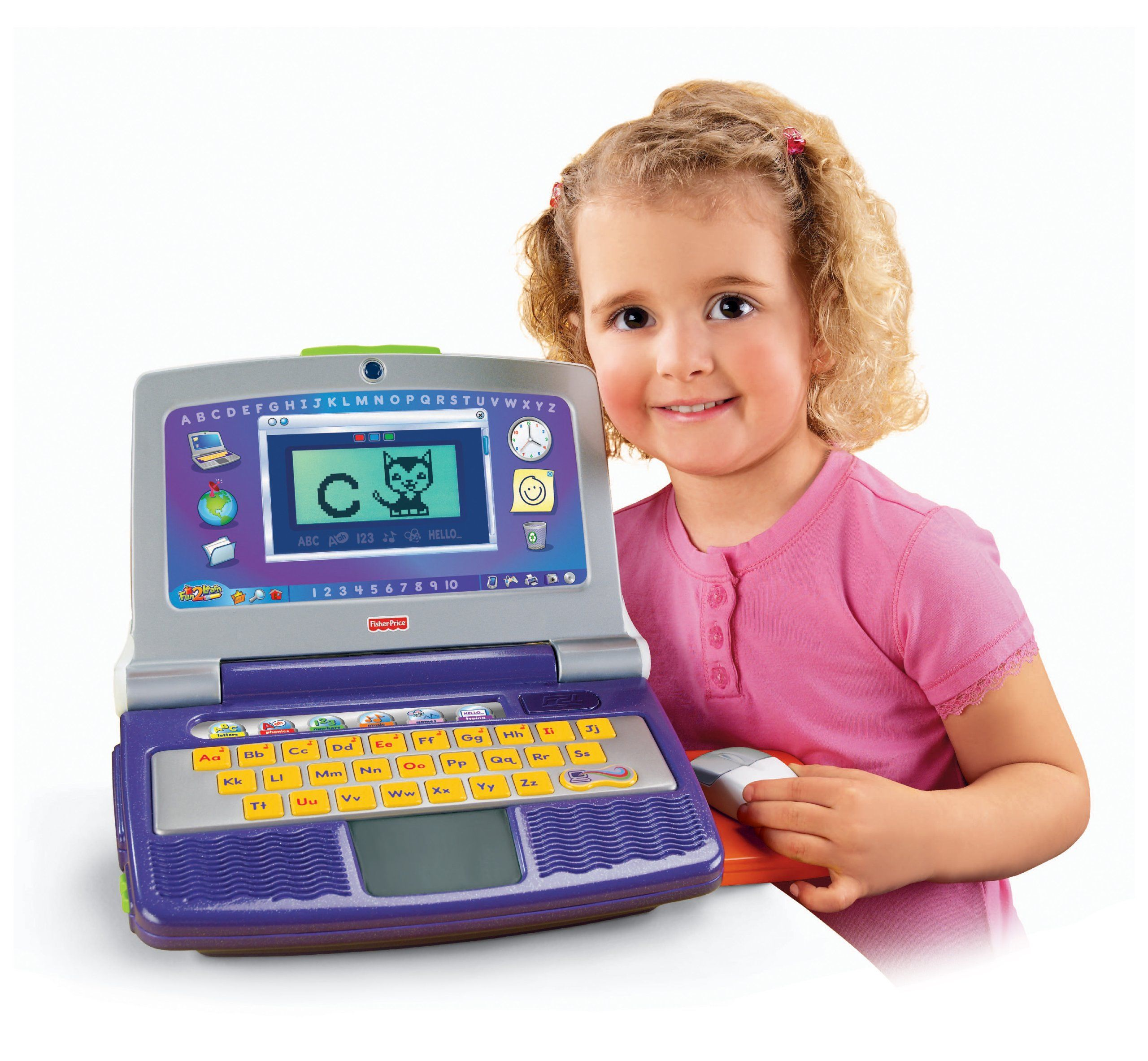 Fisher Price Fun 2 Learn Color Flash Laptop
