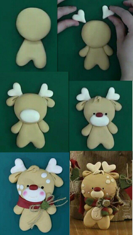 Navidad Bricolaje De Adornos De Navidad Proyectos De Arcilla Polimérica Pesebres En Porcelana Fria