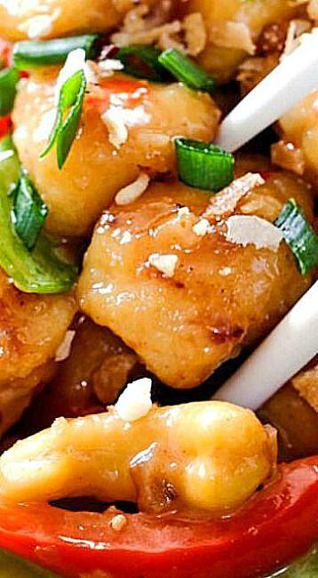 Skinny Honey Coconut Cashew Chicken
