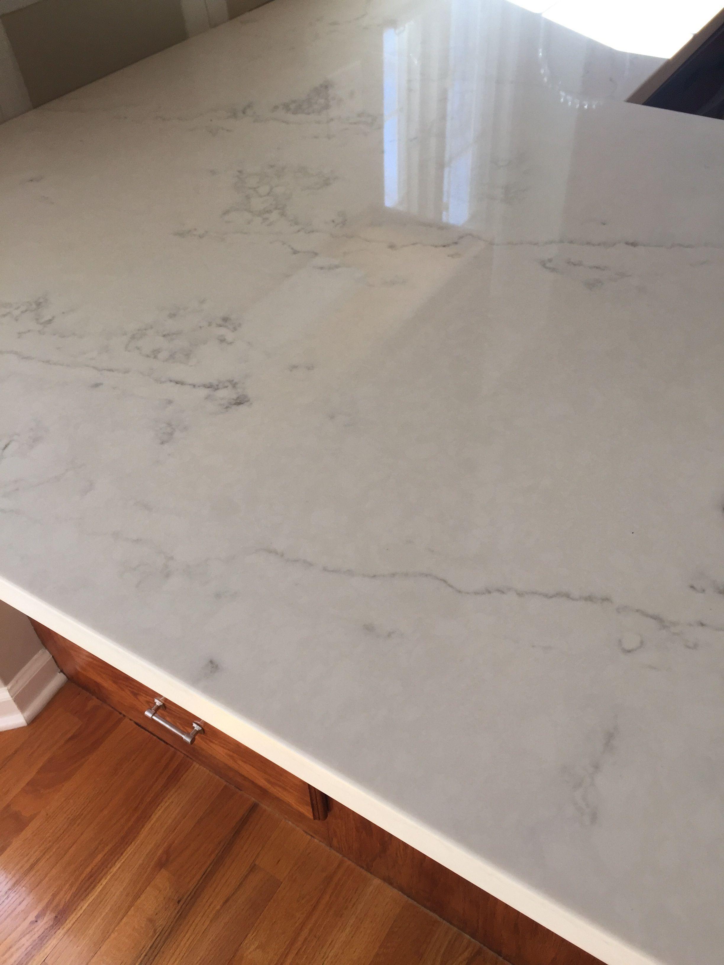 Quartz Master Organic White Countertop White Countertops