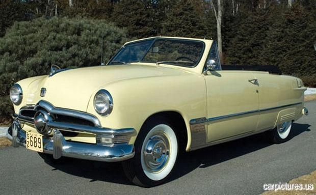 1950 Ford Custom Deluxe Convertible Car Pictures classic cars, vintage cars, old…