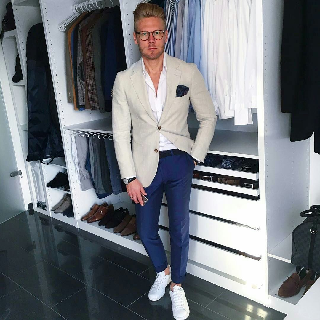 How To Dress Up Your Sneakers Men S Street Style Mens Fashion