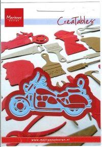 Billede: skære/prægeskabelon motorcykel, lro287, marianne design Fru Hansens Hobby: 55kr Leg & Hobby: 56kr