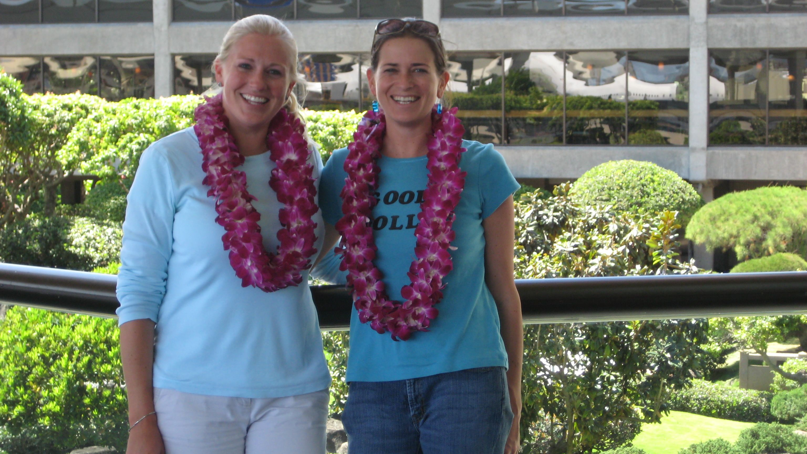 A gorgeous pair of double orchid leis at the honolulu international a gorgeous pair of double orchid leis at the honolulu international airport right off the plane m4hsunfo