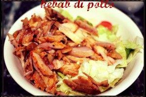 Kebab di pollo | Una cucina da single | Pinterest