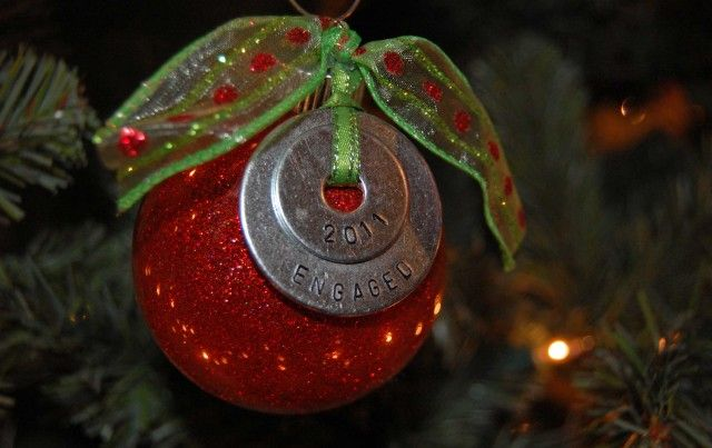 How to Make Hand Stamped Ornaments