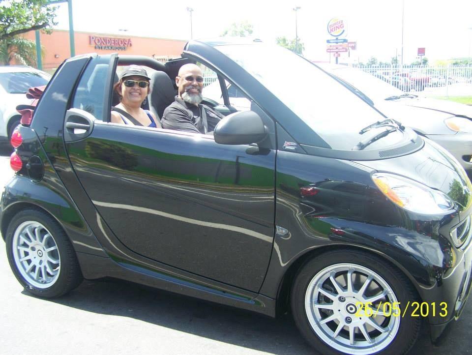 Premium Shine in the Puerto Rico Sunshine Waterless car