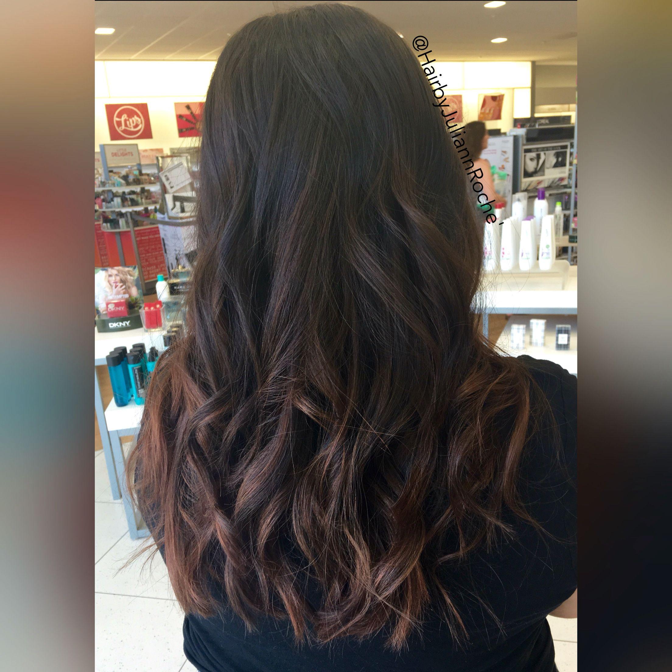 Soft baylage natural tones by juliannroche bayalge caramel hair