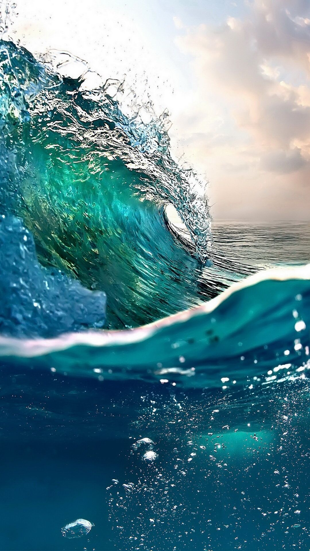 Pin by ladonna howard on beach days in 2019 waves - Beautiful nature wallpaper zedge ...