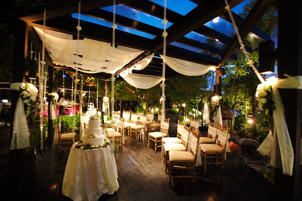 Outdoor Wedding At