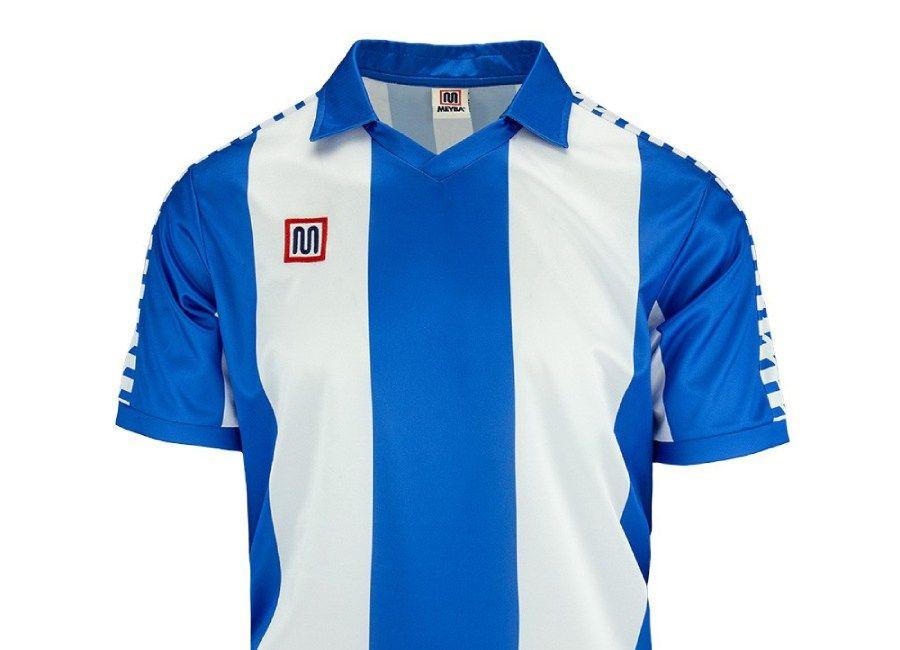 Meyba Espanyol Home Shirt 1980 1981 Blue #Espanyol
