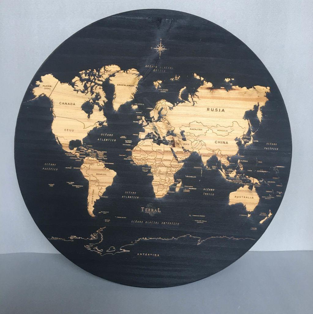 Medium Circular Mundi Negro - Comprar en TERRAL