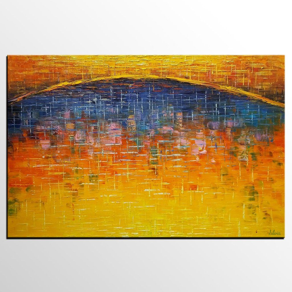 Canvas Art, Abstract Art Painting, Large Oil Painting Living Room ...