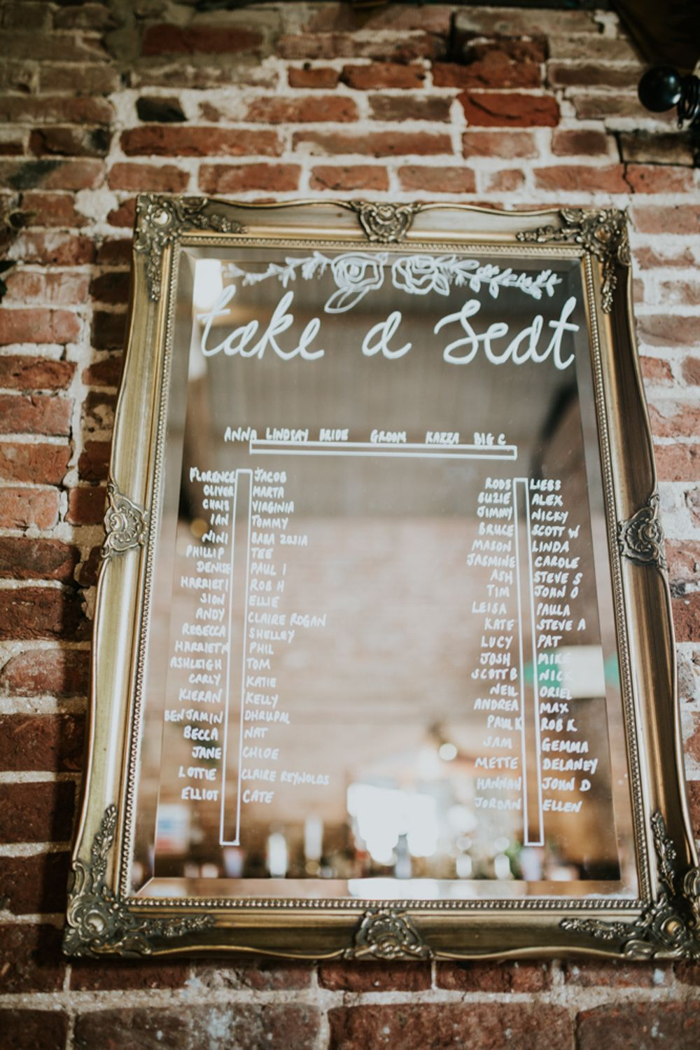 Diy Rustic Barn Wedding At Fishley Hall In Norfolk With Berry Flowers Wedding Table Plan Seating Plan Wedding Rustic Table Plan Wedding