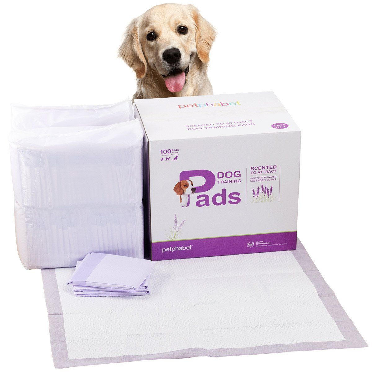 Petphabet Lavender Scented 23 By 24 Inches Dog Training